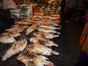 Chiang Mai New Year's Eve - Fresh Food
