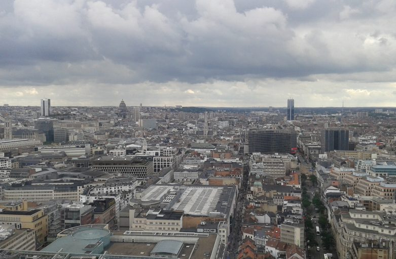 July 2017 Brussels Skyline